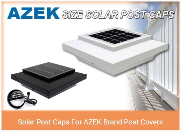 Solar Post Cap