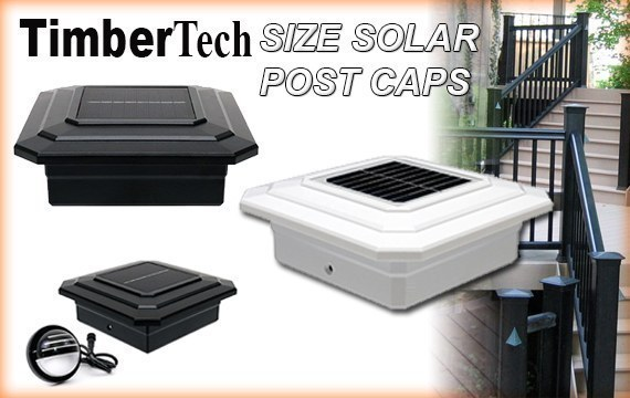 TimberTech Solar Post Cap Lights