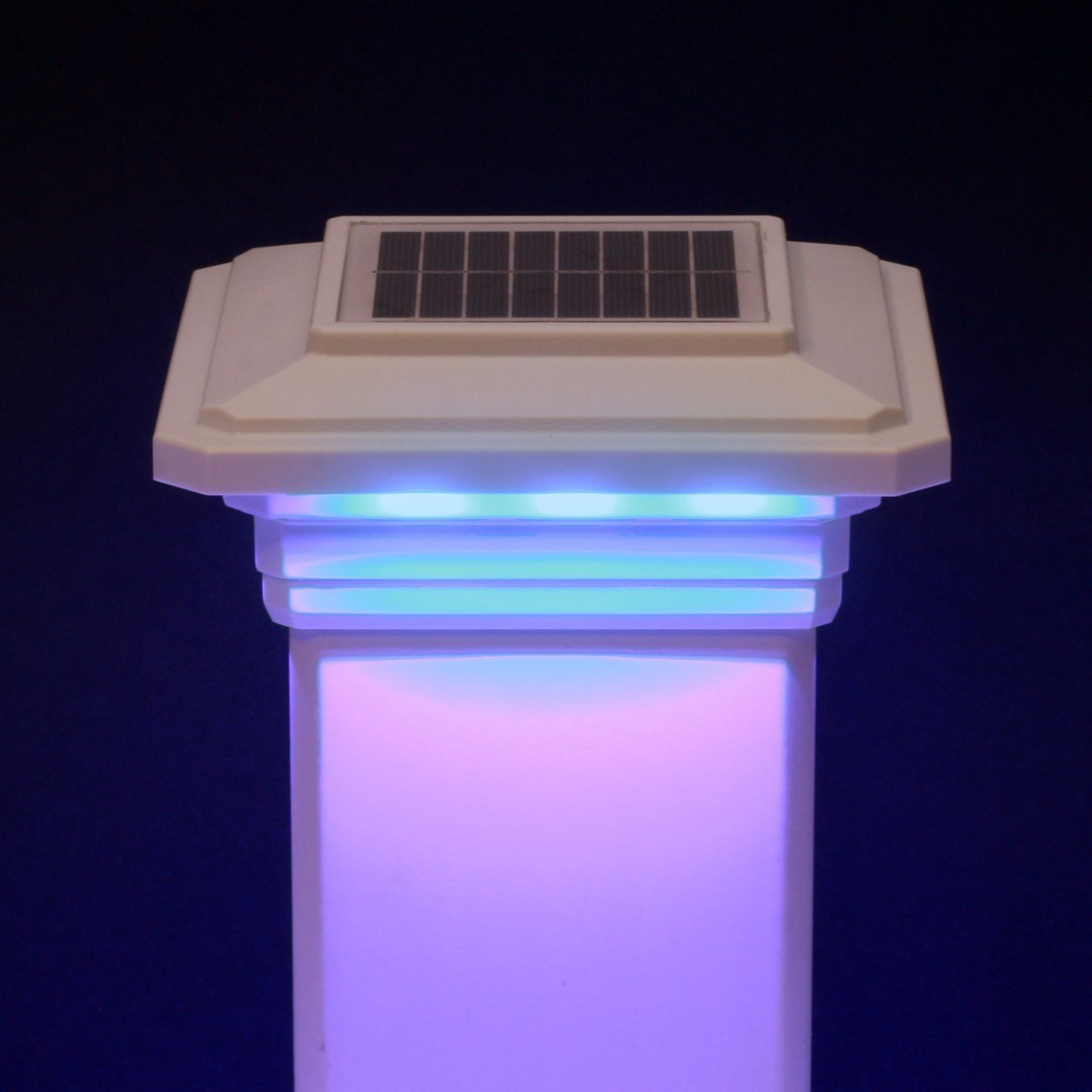Post: Solar Post Cap Light