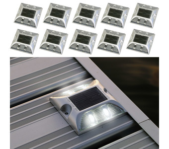 Solar Deck Lights 10pk