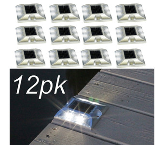 Solar Deck Lights 12pk