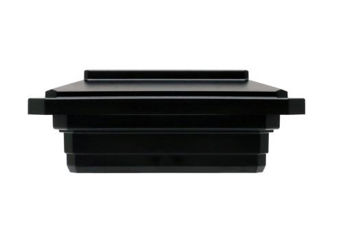 4-1/2 in. x 4-1/2 in. Solar Post Cap Light for Trex - Black - 3 LED Colors