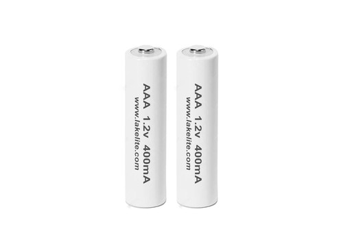 2 Pack AAA 1.2v 600mA Rechargeable Batteries