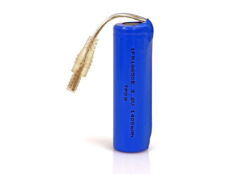 LiFePO4 Solar Rechargeable Battery 1400mA